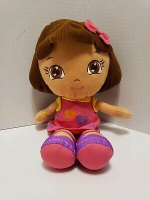 Fisher Price 2012 Mattel Dora The Explorer Plush Doll Stuffed Toy - 12""