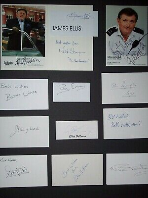 Only Fools & Horses Signed Publicity Photos/Cards x13