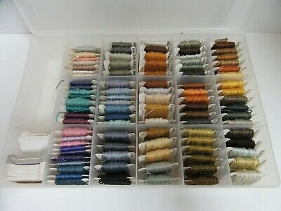 Cross Stitch Embroidery Floss Thread Organizer Pack 92 Cards