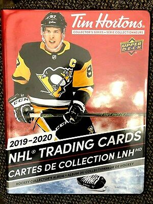2019-20 Ud Tim Hortons New Binder + Base Set+ Key Events & Gda Set = 142 Cards