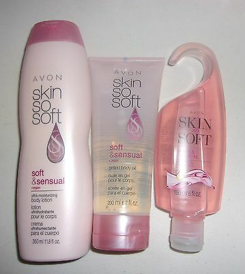 Avon Soft and sensual 3 piece set