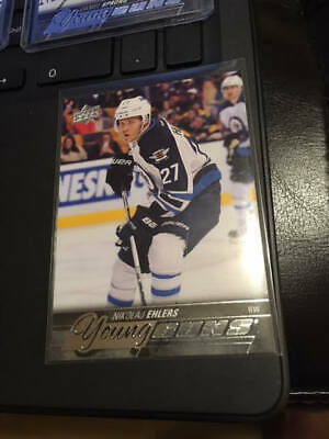 2015-16 Upper Deck Nikolaj Ehlers Young Guns RC #223 Winnipeg Jets!!!