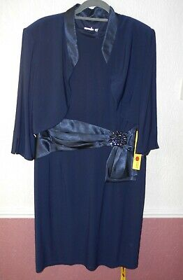 Nightingales Dress & Jacket Mother Of The Bride/Special Occasion Size 22 Bnwt