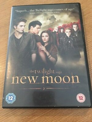 Family Dvd - The Twilight Saga - New Moon  - Rated 12
