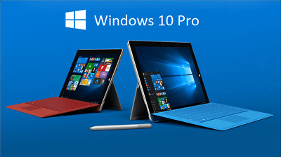 Windows 10 Pro 32/64 Bit Win 10 Genuine License Original Activation   Key