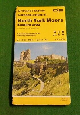 North York Moors Eastern Area 27 Outdoor Leisure Map OS Ordnance Survey