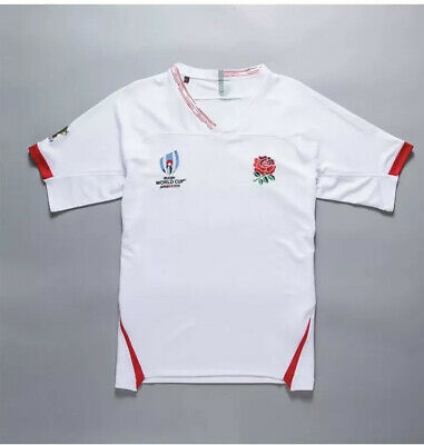 2019 ENGLAND RUGBY WORLD CUP ADULT SHIRT Size 4xl