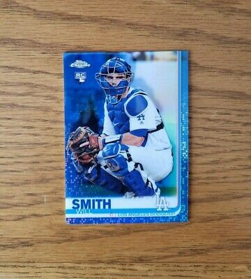 Will Smith 2019 Topps Chrome Update Blue Refractor /150 Rookie RC SP Dodgers