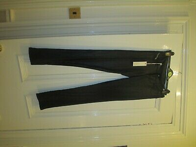 New with tags girls stretch  Diesel black slimfit trousers size age 16