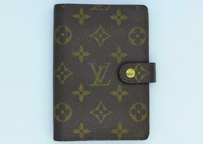Louis Vuitton Brown Monogram Small 6 Ring Agenda Cover