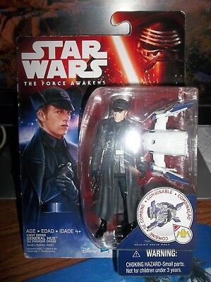 "Star Wars The Force Awakens Wave 2 First Order General Hux 3.75"" NEW!!!"