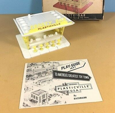 Plasticville Frosty Bar White Roof O-S Scale HTF