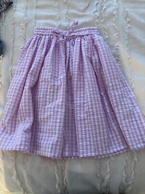 Seed Heritage Girls Lilac Midi Skirt Size 2