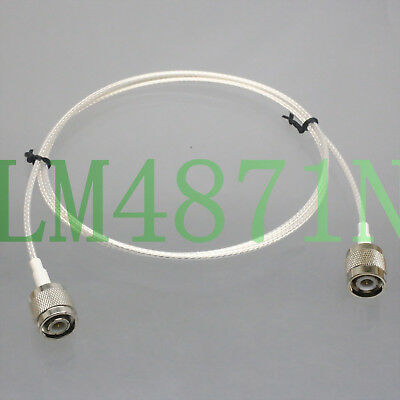 TNC male to plug M/M RG316 2FT For UHF Aerial Wireless Microphone Front Rack Kit