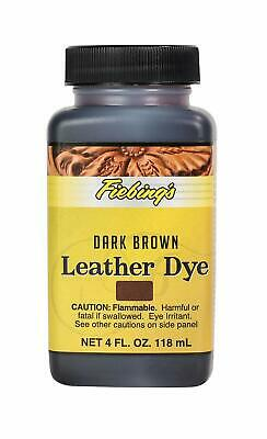 Fiebing's Leather Dye w/ Applicator - 14 COLORS - Pic - A - Color - 4 OZ NEW