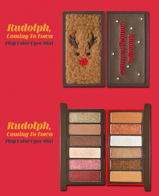 ETUDE HOUSE - Play Color Eyes Mini ( Rudolph, Coming to town eyeshadow / KOREA )