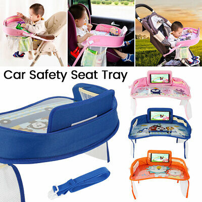 Baby Car Seat Tray Snack Play Portable Table Kids Child Travel Pushchair Board