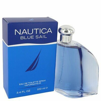 NAUTICA BLUE SAIL COLOGNE 3.4 oz / 100ml EDT Eau De Toilette Spray Men Perfume