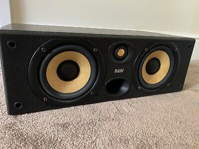 B&W CC6 120W Black Centre Speaker Bowers and Wilkins  Center