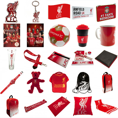 Liverpool FC Official Merchandise Gift Ideas Free Postage