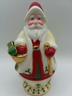 Waterford Holiday Heirloom 2 piece Santa With Candle