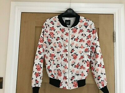 Girls New Look 915 Generation Rose Bomber Style Jacket, Age 10 - 11 Years