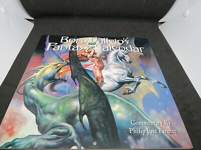 Vintage Boris Vallejo's 1998 Fantasy Calendar Nice Condition