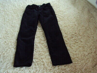 H&M Girls Black Cord Winter Trousers **AGE 8-9