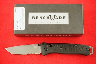 Benchmade 537Sgy Bailout Cpm-3V Axis Lock Tanto Blade Knife Ultra Light, New/Box
