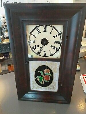 New England American OG ogee Antique CONNECTICUT JEROME Co New Haven SHELF CLOCK