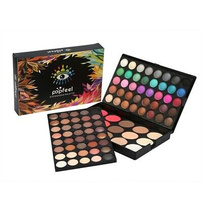 80Colors Eye Shadow Palette 15Colors Blusher Concealer Makeup Eyeshadow Cosmetic