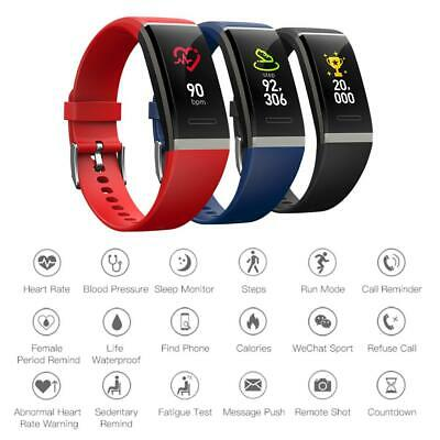 V11 Smart Bracelet Watch IP67 Heart Rate Monitor Fitness Sports Wristband New