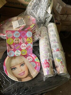 Pallets Of Mixed Party Cups, Plates, Table Covers And Serviettes
