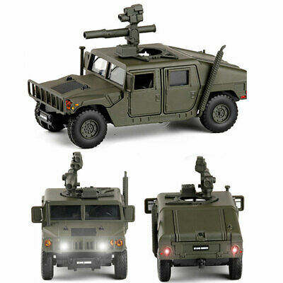 1:32 Humvee M1046 TOW Missile Carrier Diecast Military Vehicle Model Car Toy