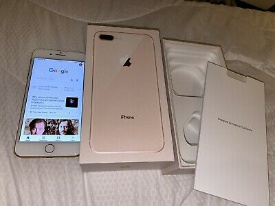 Apple iPhone 8 Plus - 64GB - Gold, Boxed In A+ Condition. (Unlocked) A1897 (GSM)