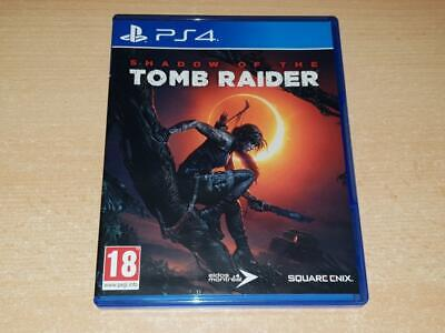 Shadow of the Tomb Raider PS4 Playstation 4 **FREE UK POSTAGE**
