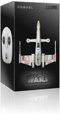 New Propel SW-1977-CX Star Wars Quadcopter X Wing Drone Collectors Edition Box