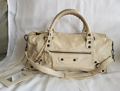 Balenciaga Authentic Leather Twiggy Bag Made In Italy