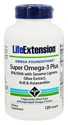 Life Extension - Super Omega-3 Plus EPA/DHA with Sesame Lignans, Olive Extract,