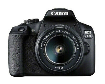 "2728C003  Eos 2000D Kit Slr Camera 24.1 Mp Cmos Display: 7.62 Cm/3"" Tft"
