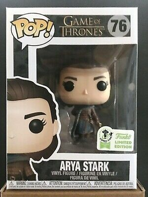 Funko Pop Game Of Thrones 76 Arya Stark 2019 ECCC Exclusive
