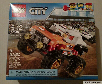 Lego City 60146 Stunt Truck 4x4 Monster Truck New Sealed Free Shipping!!