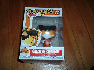 Funko Pop! Chester Cheetah #77~ New~ Near Mint~ Ad Icons Series~