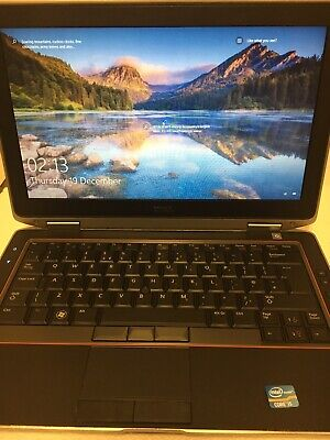 "Dell Latitude E6320 INTELCore I5-2540M   13.3"" Laptop 4GB RAM 320GB HDD,Wind 10"