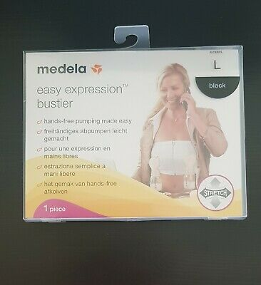 New Medela Easy Expression Bustier -  Pumping Bra - Large