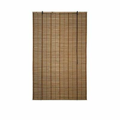 Bamboo Wooden Indoor Roll Up Window Roman Blinds Light Filtering Shades Privacy