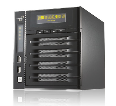 THECUS N4200 Zero-Crash™ with Dual Power NAS