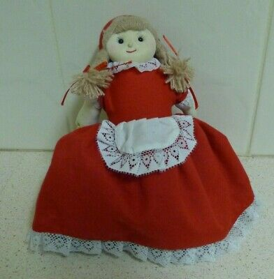 """Little Red Riding Hood"" Topsy Turvy Plush Toy Doll -Growing World /Philippines"