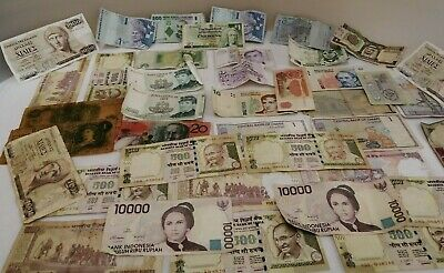 Collection Of Assorted Bank Notes (D3)
