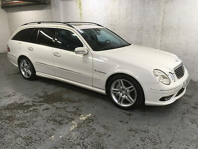 Mercedes-Benz E55 AMG Supercharged Estate LHD left hand drive low kms